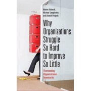 Why Organizations Struggle So Hard to Improve So Little by Martin Klubeck