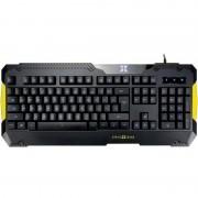 Tastatura gaming X by Serioux Edana Black / Yellow