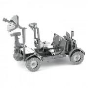 Puzzle DIY 3D Montado modelo de juguete de Apollo Lunar Rover - plata