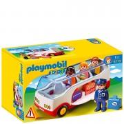 Playmobil 1.2.3 Airport Shuttle Bus (6773)