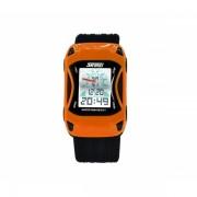 Ceas Skmei pentru copii 0961B auto, portocaliu