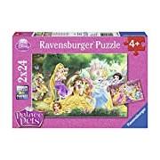 Ravensburger - Disney Princess - Palace Pets Best Friends 08952 2 x 24 Piece Jigsaw Puzzle