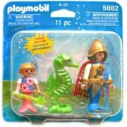 Playmobil 5882 Ocean Mermaid Set - King, Princess and Seahorse by PLAYMOBILÃ'®