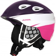 Alpina Grap 2.0 - Casque de ski Enfant - rose/violet 54-57 cm Casques ski & snowboard