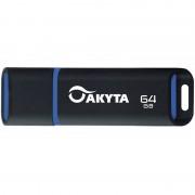 Memorie USB Akyta Kyoto Line 64GB USB 2.0 Black Blue