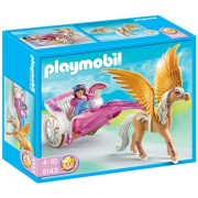 Playmobil Princess with Pegasus Carriage, Multi Color