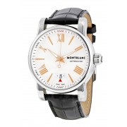 Montblanc Star 4810 Silver Guilloche Dial Mens Watch 105858