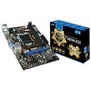 MSI H81M-E33 - 4th Generation MotherBoard (LGA1150, H81 Chipset, HDMI + VGA Ports, DDR3 Upto 16GB)
