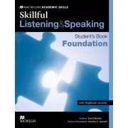 Skillful Listening and Speaking Student's Book + Digibook Foundation Level by David Bohlke