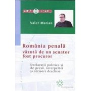 Romania penala vazuta de un senator fost procuror - Valer Marian