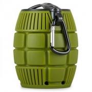 oneConcept Grenadier, hordozható bluetooth hangfal (BTS5-Grenadier-Olive)