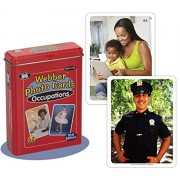 """Webber """"Occupations"""" Careers Photo Flash Card Deck 2nd Edition - Super Duper Educational Learning Toy for Kids"""