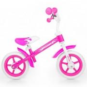 Bicicleta fara pedale Milly Mally Dragon pink