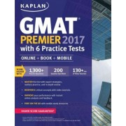 GMAT Premier 2017 with 6 Practice Tests by Kaplan Test Prep