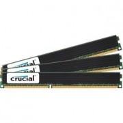 Crucial CT3K4G3ERVLD81339 Mémoire RAM 12GB kit (4GBx3) DDR3 PC3-10600 Registered ECC Very Low Profile