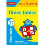 Times Tables Ages 5-7: New Edition by Collins Easy Learning