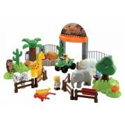 Écoiffier joc de construit pentru copii Abrick parc safari 3145