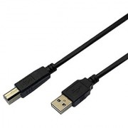 VCZHS USB Printer Cable A Male to B Male Cable for Epson HP Dell Canon Lexmark Printer 25Feet