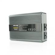 Whitenergy invertor DC/AC de la 24V DC la 230V AC 1000W, 2 receptacule AC