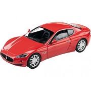 MODELLINO Auto Mondo Maserati Gran Turismo scala 1:24 Rosso