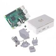 Kit Raspberry Pi 3 + Caja Blanca + Fuente 5.1V