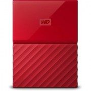 WD My Passport Ultra 2TB Portable External Hard Drive (Red)