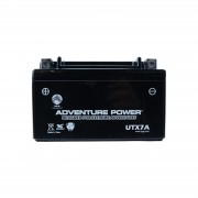 Motorcycle Battery UTX7A 12V 6Ah 85CCA Replaces YTX7A-BS