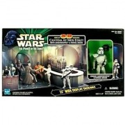 Star Wars: Power of the Force Cantina 3-D Display Diorama with Sandtrooper & Patrol Droid