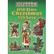 Glitter Old-Time Christmas Stickers by Anna Samuel