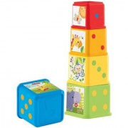 Fisher Price Stack and Explore Blocks Multi Color