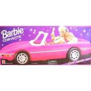 Barbie Corvette Convertible Vehicle - Cool Sports Car! (1995 Arcotoys Mattel)