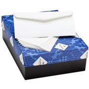 Strathmore Pure Cotton Envelopes #10 Commercial Flap Pure Cotton Wove Finish 24 lb. 4-1/8 x 9-1/2 Inch 500 Envelopes/Box - Sold as 1 Box Ultimate White (M17454)