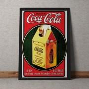 Quadro Decorativo Coca Cola 35x25