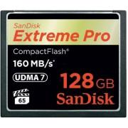Card de memorie SanDisk Compact Flash Extreme Pro 128GB, 160MB/s