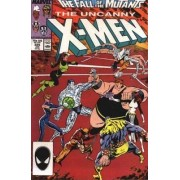 Uncanny X-Men N° 225, The Fall Of The Mutants Part 1 (Vo)