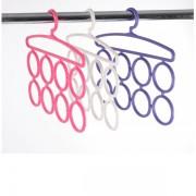 3 umerase cu 8 cercuri pentru haine si accesorii