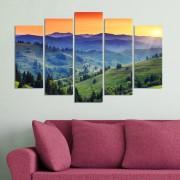 Декоративeн панел за стена с величествен планински пейзаж Vivid Home