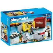Playmobil Cargo Loading Team, Multi Color
