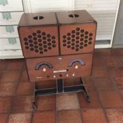 Brionvega Radio Giradischi Rr126 Vintage Originale 1965-66
