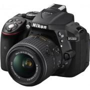 Nikon D5300 Digital SLR Camera (Black) with 18-55mm VR Zoom Lens and AF-S Nikkor 50mm F/1.8G Twin Prime Lens, 4GB Card and Camera Bag