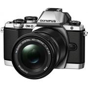 "Olympus E-M10 Mark-II Cámara EVIL de 16.1 Mp (pantalla 3"", estabilizador óptico, vídeo Full HD, WiFi), negro kit con objetivo M Zuiko Pancake 14-42mm EZ y zoom 40-150R"