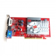 ATI Radeon 9550 256M VGA + S-Video + DVI AGP tarjeta de video