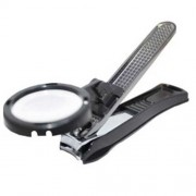 Neo gold leaf Clipper Nail Cutter with Magnifier