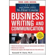 The McGraw-Hill 36-hour Course in Business Writing and Communication by Kenneth W. Davis