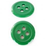 Groene decoratie knopen 6 cm