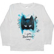 Tricou baieti pictat manual, 4-5 ani, Batman
