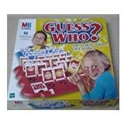 GUESS WHO ? THE FLIP & FIND FACE GAME - Juego de preguntas (importado)
