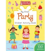 My First Party Sticker Activity Book by Jo Moon