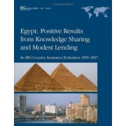 Egypt - Positive Results from Knowledge Sharing and Modest Lending by World Bank