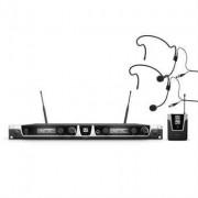 LD Systems U508BPH2, Funset 2xBeltpack + 2xHeadset